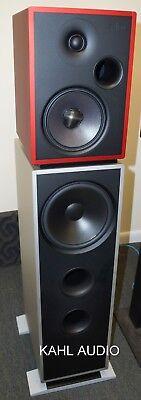 Stenheim Alumine 3 Way floorstanding speakers. Swiss high end! $45,000 MSRP High End Floor Standing Speaker