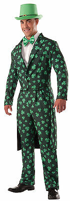 Shamrock Formal Suit - Adult St. Patrick's Day Irish Costume - Shamrock Costume