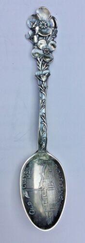 Vintage Monterey, CA Sterling Souvenir Spoon - Old Custom House