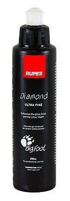 RUPES Diamond Ultra Fine Glanzpolitur Autopolitur Politur Feinpolitur 250 ml (Ultra Fine Politur)