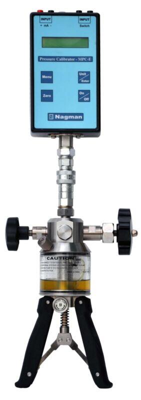 Portable Hydraulic Pressure Calibrator, 700 Bar / 10000 Psi, Model MPCE Series