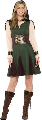 Mittelalter Jägerin Robin Hood Kostüm Größe L Damen Karneval Waldläuferin - Jägerin Kostüm Damen