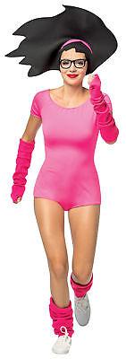 Bob's Burger Halloween Costume (Bob's Burgers Buttloose Tina Adult Costume Pink Halloween Dress Rasta)