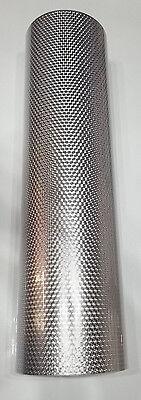 Silver Small Engine Turn Sign Plotter Cutter Vinyl