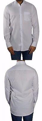 Herren Hemd extra langer Arm Gr.XXL Weiß