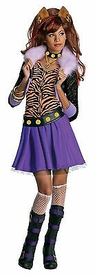 Wolf Girl Halloween Costume (LICENSED MONSTER HIGH CLAWDEEN WOLF CHILD HALLOWEEN COSTUME GIRL SIZE SMALL)