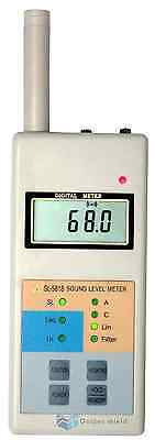 Sl5818 Digital Lcd Sound Noise Level Meter Decibel Monitor Tester