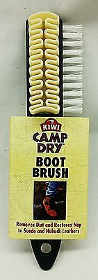 SUEDE BRUSH Shoe BOOT Kiwi CAMP DRY Multifunction Leather Nubuck Cleaning