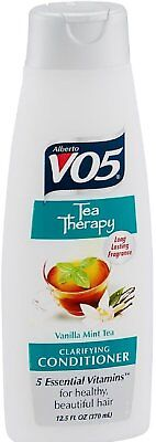 Alberto Vo5 Tea Therapy - Alberto VO5 Tea Therapy, Vanilla Mint Tea Conditioner for Unisex, 12.5 Ounce