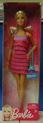 Barbie Pink Ruffle Dress New! Free Shipping!