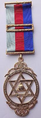 Masonic Silver Hallmarked Thomas Harper Reproduction Chapter Jewel 1825