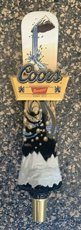 Coors Banquet Snowboard Tap Handle - 11.5 Inches