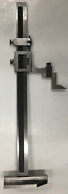Starrett 454emz-18 Vernier Height Gage 0-180-46cm Range .0010.02mm