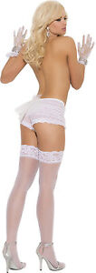 Sheer Lace Top Thigh High Stockings EM1721