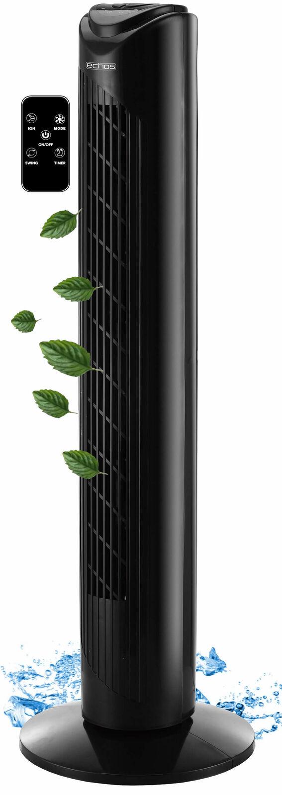 Turmventilator Tower-Ventilator Standventilator Fan Säulenventilator Luftkühler