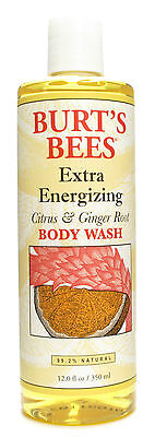 Burts Bees Citrus   Ginger Root Body Wash 12 Fl Oz