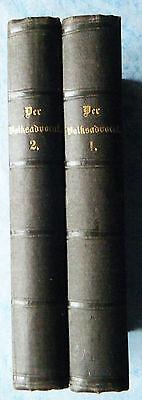 Der Volksadvocat für das Königreich Sachsen und die Herzogthümer 2 Bände 1866
