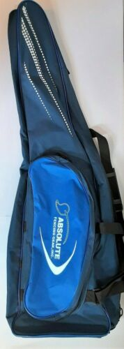Absolute Fencing Gear Equipment Carrying Bag Blue White