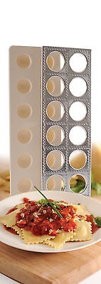 (Norpro 1043 Ravioli Maker With Press Pasta Dough Mold Tool)