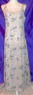 VTG Express Lavender Floral Spring/Summer Sz 7/8 Maxi -