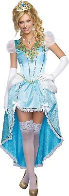 Having A Ball Womens Princess Costume Adult Gown Dress Cinderella Halloween