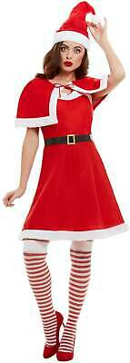 MISS SANTA FANCY DRESS COSTUME - Santa Con Kostüme