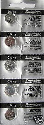 Energizer Silver Oxide 357 Battery 357 Watch Batteries X 25