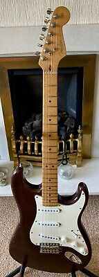 Fender USA Highway One Stratocaster, 2002 - Mocha, naturally road worn