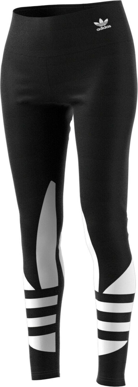NIB Women's adidas Logo workout apparel Running Leggings Nav