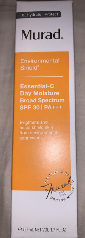 Murad Environmental Shield Essential C Day Moisture SPF 30 1.7oz 50ml Exp 11/22
