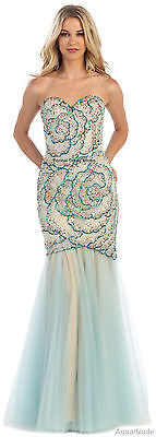 Red Carpet Sale (SALE !! PROM QUEEN EVENING FORMAL GOWN RED CARPET PAGEANT SWEET 16 MERMAID)