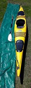 Prijon Sea Kayak with Rudder and Accessories Stockton Newcastle Area Preview