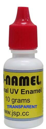 U-NAMEL® 10 grams, TRANSPARENT RED(ez2071)