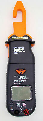 Klein Electrical Tool Cl3100 Ac Dc Hook Clamp Volt Meter 200 Amp No Leads Aa