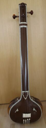 1979 VTG 4 String 54 Inch Indian India Tanpura instrument w/case local pick only