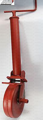 Simol Stützrad halbautomatisch 1000kg mit Federverriegelung für Anhänger & Agrar