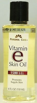 Personal Care Vitamin E Skin Oil Promotes Supple Skin 4  fl oz