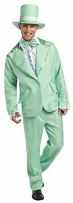 70s Funky Tuxedo Pastel Green Adult Mens Costume Cool Tux Theme Party Halloween