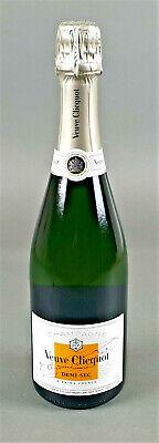 Veuve Clicquot Champagner Demi-Sec Weiß 0,75l 12% Vol Original 1 Flasche (668)