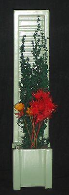 Blumengestell mit Blumen,(#14),Miniatur f.d. Puppenstube,1:12