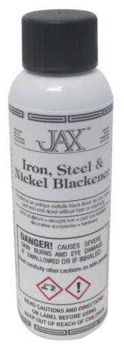 JAX Iron Steel and Nickel Blackener Antique Metallic Black Finish 2 oz - 45-949
