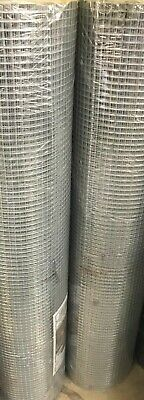 Aviary/Bird/Rabbit/Poultry Galvanised Wire Mesh Roll 1/2