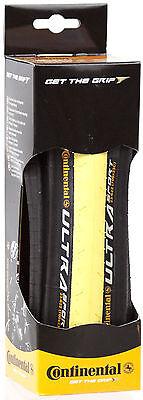 New Continental Ultra Sport Clincher Black Yellow 700x23c Road BIke Folding Tire