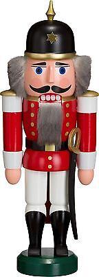 NUßKNACKER Soldat rot 27cm NEU Erzgebirge Seiffen Volkskunst Weihnachten