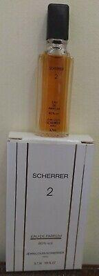 SCHERRER 2 EAU DE PARFUM JEAN-LOUIS SCHERRER PARIS 3.7 ML MINIATURE NEW IN BOX