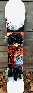 SIMS snowboard package!