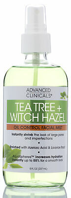 tea tree witch hazel oil control skin