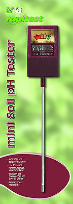RAPITEST MINI pH SOIL LAWN FLOWER PLANT TEST METER GARDEN TESTER