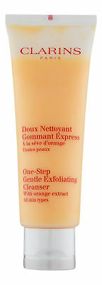 Clarins One-Step Gentle Exfoliating Cleanser 4.32 oz 125 ml. Sealed (Step Gentle Cleanser)
