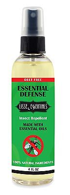 100% Non-chemical Insect Repellent Essential Oil DEET FREE Mosquito & Bug Spray 4 oz